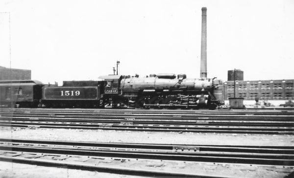 4-8-2 1519 at St. Louis, Missouri in June 1938