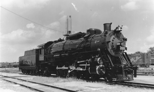 4-8-2 1522 at Springfield, Missouri (date unknown)