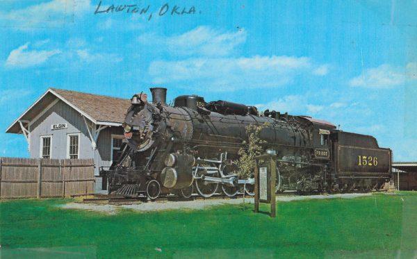 4-8-2 1526 (Postcard)