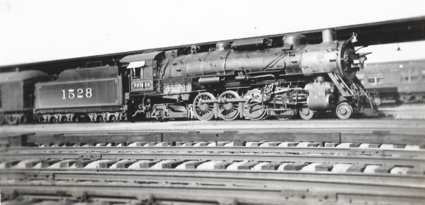 4-8-2 1528 at Birmingham, Alabama on September 30, 1937
