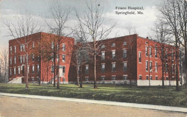 Frisco Hospital - Springfield, Missouri (Postcard)