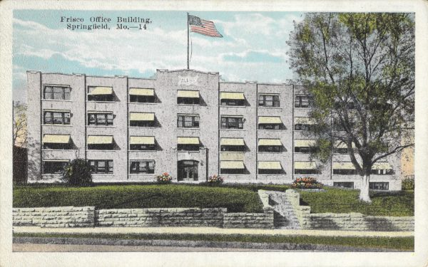Frisco Office Building - Springfield, Missouri (Postcard)