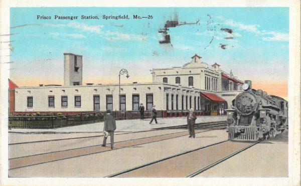 Frisco Passenger Station - Springfield, Missouri 1937
