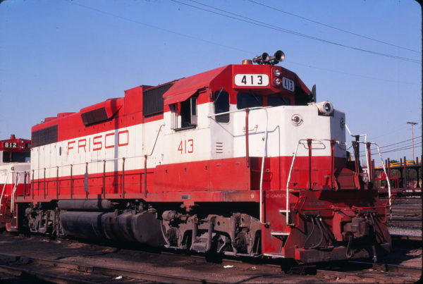 GP38-2 413 at St. Louis, Missouri in June 1979 (Michael Wise)