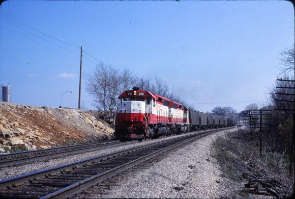 SD45 930 at Merriam, Kansas on March 19, 1980 (John Benson)