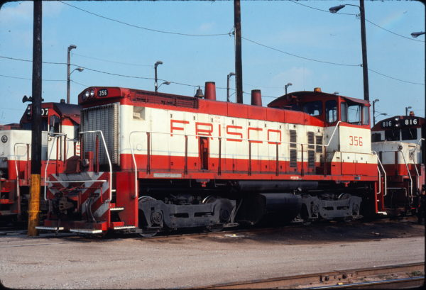 SW1500 356 at Tulsa, Oklahoma on July 4, 1976 (Mel Lawrence)