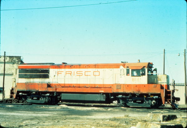 U25B 814 at Birmingham, Alabama in February 1977 (Vernon Ryder)