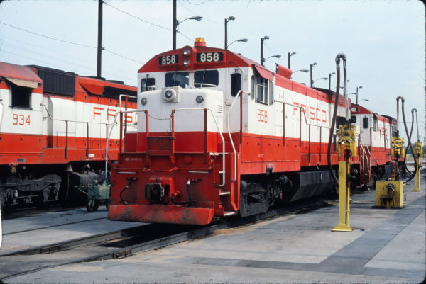 U30B 858 at Tulsa, Oklahoma on July 14, 1980