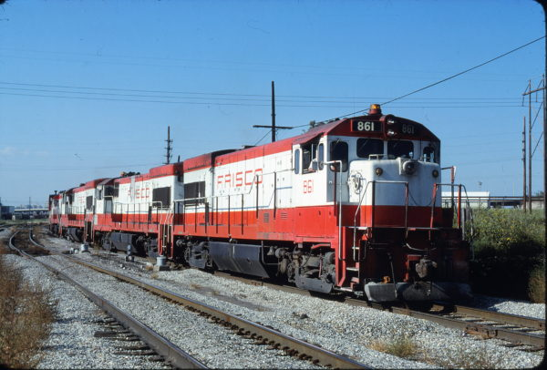 U30B 861 at Kansas City, Missouri on September 16, 1980 (James Primm)