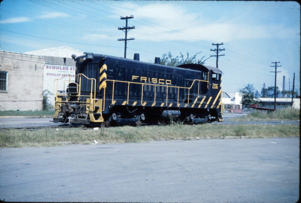 VO-1000m 206 at North Birmingham, Alabama in November 1962 (A.W. Hudson)