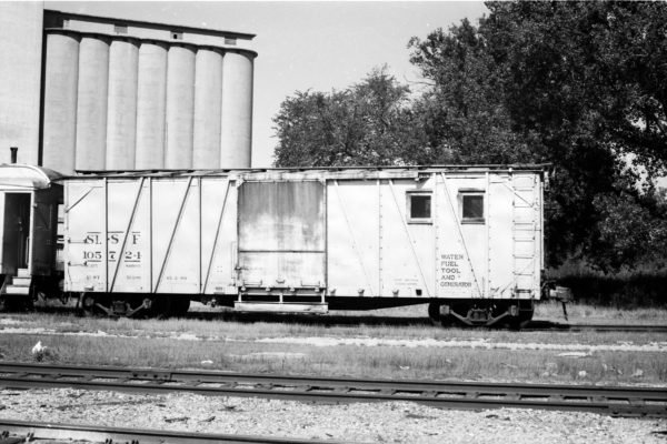 Water, Fuel, Tool and Generator Car 105724 (date and location unknown)
