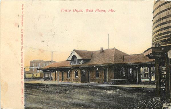 West Plains, Missouri Depot