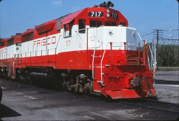 GP35 717 at Omaha, Nebraska on June 26, 1979 (Jerry Bosanek)