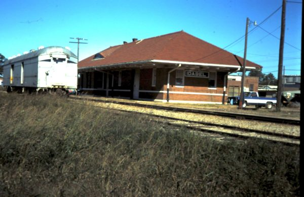 Idabel, Oklahoma Depot (date unknown)