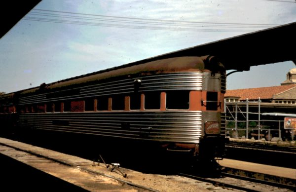 Meteor Lounge Car at Birmingham, Alabama (date unknown)