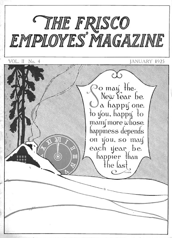 Frisco Employes' Magazine - January 1925
