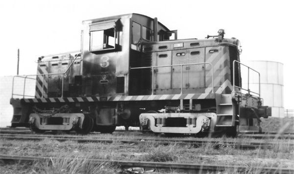 44-Ton Switcher 3 at Pensacola, Florida on May 22, 1951 (Arthur B. Johnson)