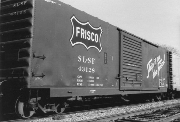 Boxcar 43128 (date and location unknown)