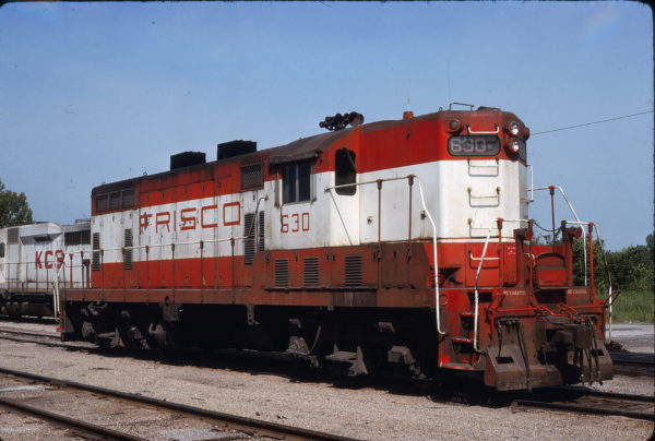 GP7 630 at Neosho, Missouri on June 4, 1978 (David Cash)