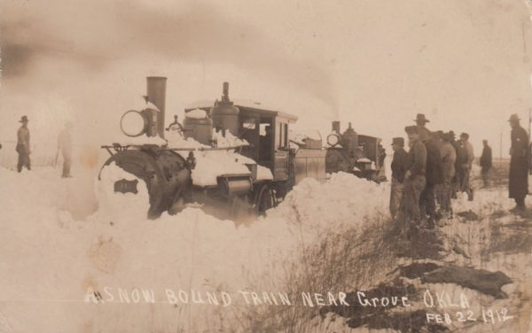 Snowbound Train - Grove, Oklahoma (February 22, 1912)