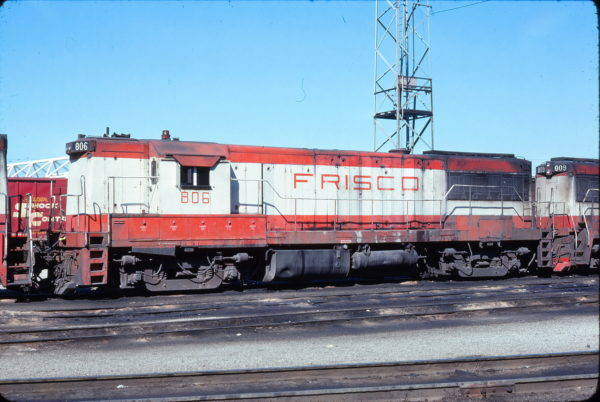 U25B 806 (location unknown) on March 6, 1976 (D.A. Hyer)