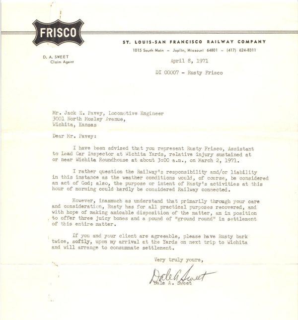 Pavey Letter 3