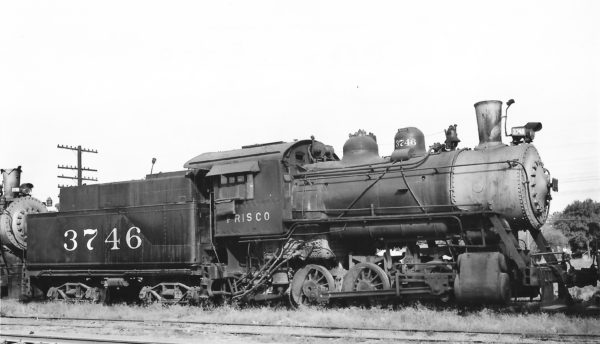 0-6-0 3746 at Tulsa, Oklahoma on September 24, 1948 (Arthur B. Johnson)