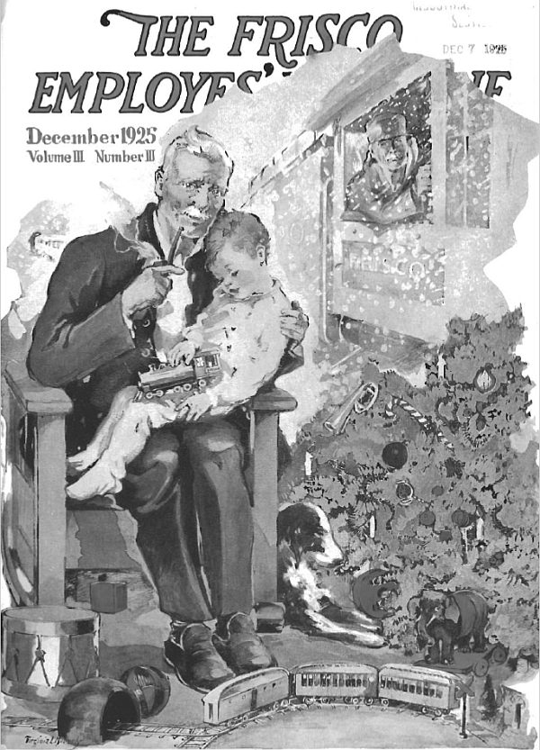 Frisco Employes' Magazine - December 1925
