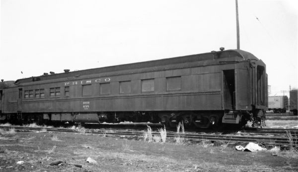 36 Seat Diner 638 at Springfield, Missouri on April 4, 1965 (Arthur B. Johnson)