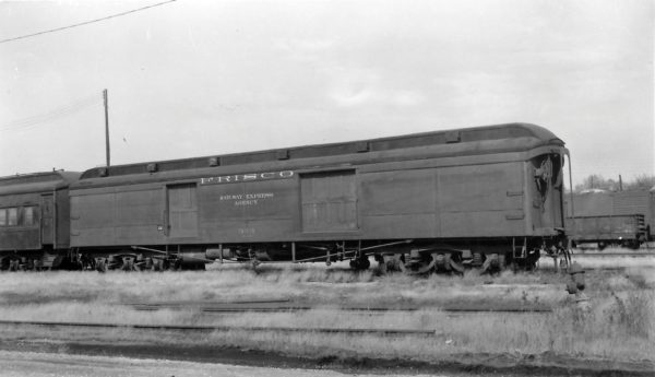 Baggage Car 333 at Springfield, Missouri on October 20, 1963