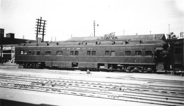 Business Car 1 at Springfield, Missouri on October 4, 1947 (Arthur B. Johnson)