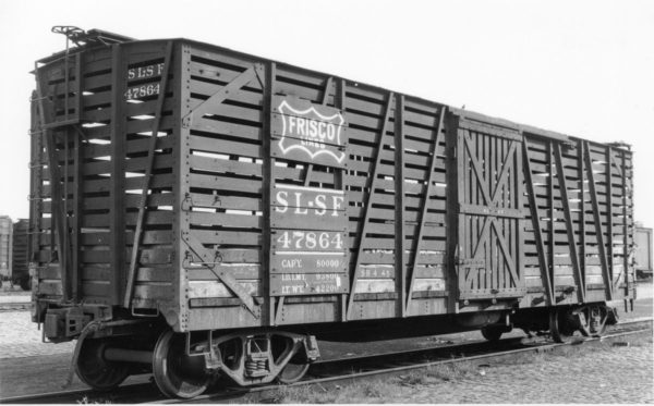 Cattle Car 47864 (date and location unknown)