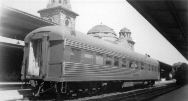 Diner Car Birmingham at Birmingham, Alabama in 1962 (Photog Unknown)
