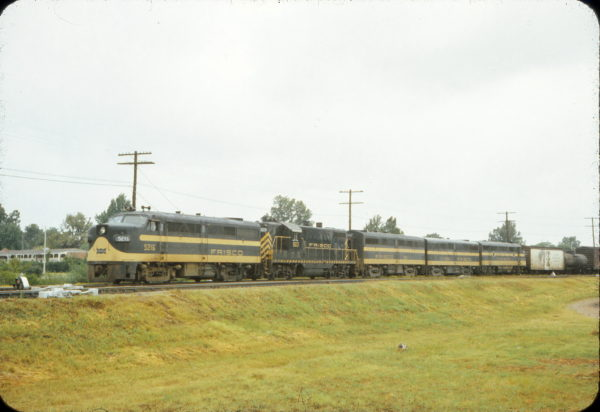 FA-1 5216 and GP7 503 (date and location unknown)