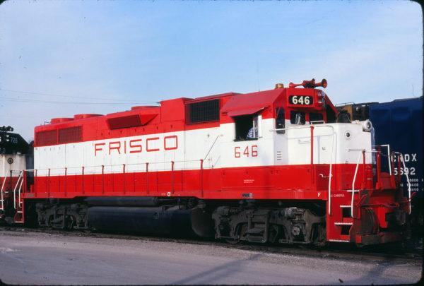 GP38AC 646 at St. Louis, Missouri on April 19, 1980 (Michael Wise)