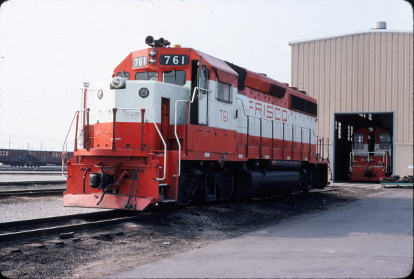 GP40-2 761 (location unknown) in July 1980