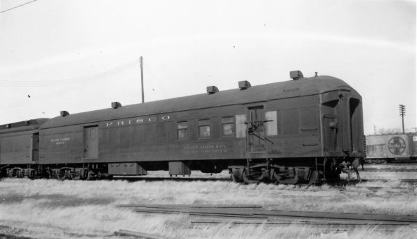 Railway Post Office 211 at Springfield, Missouri on January 26, 1964 (Arthur B. Johnson)