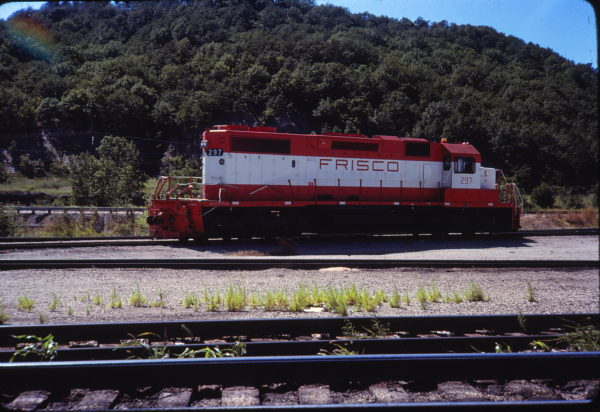 SD38-2 297 Tulsa in August 1979