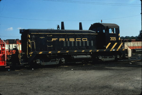 SW9 305 at Birmingham, Alabama on May 28, 1972