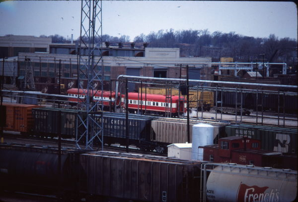 Springfield Yard in March 1980 (Ken McElreath)