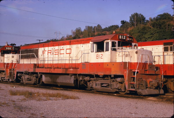 U25B 812 at Kansas City, Missouri on September 15, 1974 (James Primm)