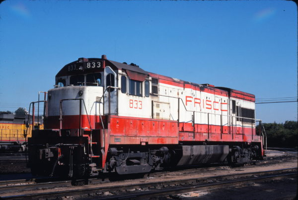 U30B 833 at Kansas City, Kansas in September 1978 (Michael Wise)