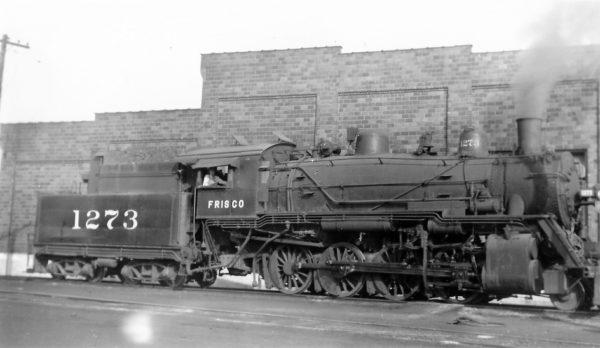 2-8-0 1273 at Birmingham, Alabama on August 30, 1951 (Arthur B. Johnson)