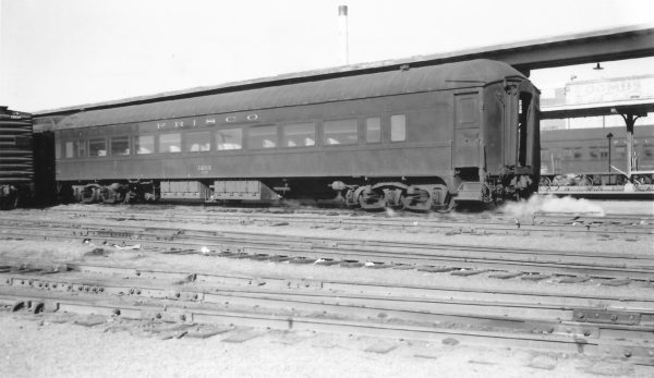 64 Seat Chair Car 1203 at Springfield, Missouri on January 1, 1961 (Arthur B. Johnson)