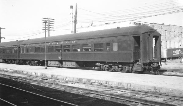 Chair Car 1207 at Springfield, Missouri on October 24, 1965 (Arthur B. Johnson)