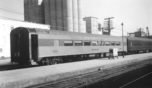Chair Car 1259 at Springfield, Missouri on October 24, 1965 (Arthur B. Johnson)