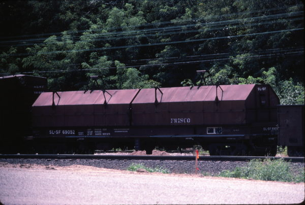 Coil Car 69052 at St. Louis, Missouri in August 1983 (Ken McElreath)