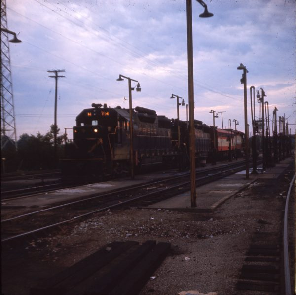 GP35 714 at St. Louis, Missouri in September 1968 (Ken McElreath)