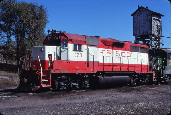 GP35 720 at Guernsey, Wyoming on September 24, 1979 (Ryan Ballard)
