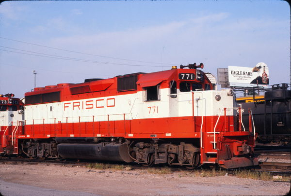 GP40-2 771 at St. Louis, Missouri on August 31, 1980 (David Johnston)
